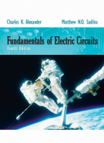 Fundamentals of Electric Circuits 4th Edition Book + Solution Mannual