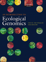 Introduction to Ecological Genomics – N. Straalen (Oxford, 2006)