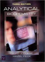 Analytical Biochemistry 3rd Edition – David Holme, Hazel Peck