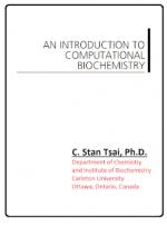 An Introduction to Computational Biochemistry – Jeremy J. Ramsden