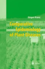 Comparative Epidemiology of Plant Diseases by Jiirgen Kranz