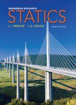 Engineering Mechanics Statics by Meriam and Kraige
