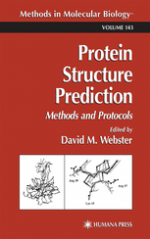 Protein Structure Prediction, methods and protocol – David M. Webster