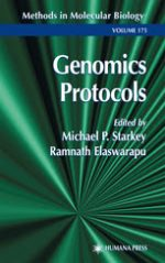 Genomics Protocols  –  Michael P. Starkey , Ramnath Elaswarapu