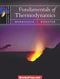 Fundamentals of Thermodynamics by Claus Borgnakke and Sonntag book