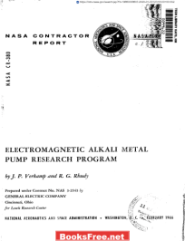 Electromagnetic Alkali Metal Pump Research Program