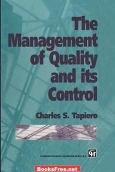 Download The Management of Quality and its Control book