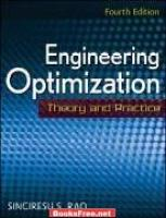 Engineering Optimiztion by Singeresu S.Rao