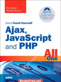 Sams Teach Yourself All in One Ajax Java Script and PHP, ajax javascript and php
