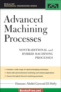 Advanced Machining Process by Hassan Abdel-Gaward El-Hofy book cover