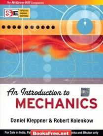 Download An Introduction to Mechanics book