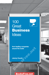 100 Great Business Ideas from leading companies around the world