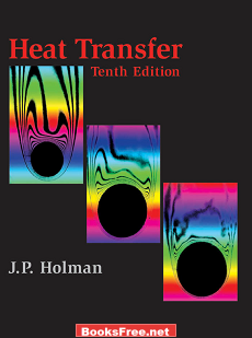 Heat Transfer by J.P Holman book frontcover