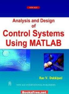 Download Analysis and Design of control Systems using Matlab book