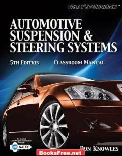 Download Automotive Suspension and Steering Classroom Manual book