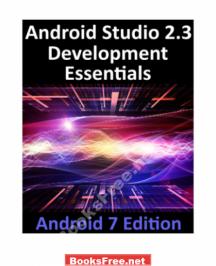 Android Studio 2.3 Development Essentials