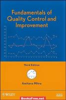 Download Fundamentals of Quality Control and Improvement by Amitava Mitra book