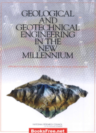 geological and geotechnical engineering in the new millennium,geological and geotechnical engineering in the new millennium pdf
