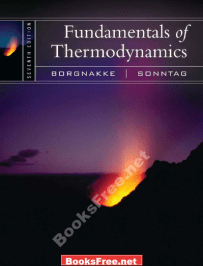 Fundamentals of Thermodynamics by Borgnakke and Sonntag